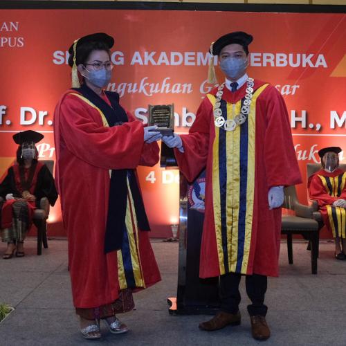 Kemendikbud DIKTI Kukuhkan Guru Besar Pertama Universitas Pelita Harapan Kampus Medan